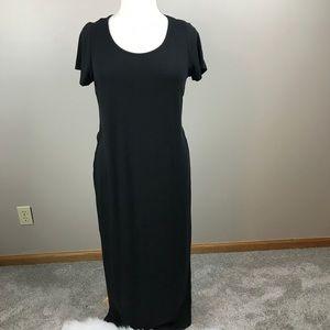Torrid Black Jersey Maxi Dress Size 1X
